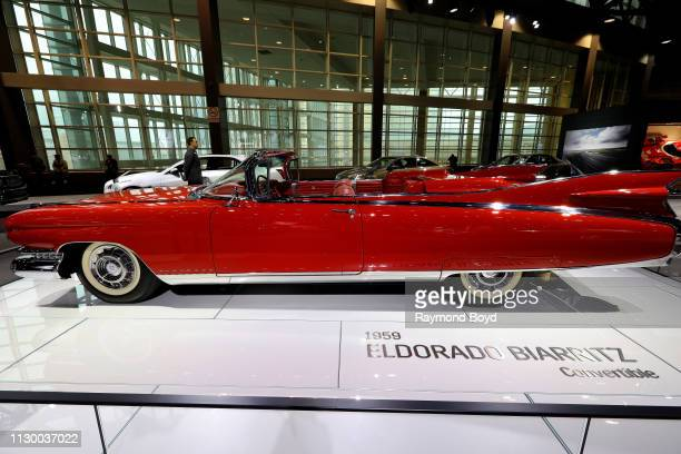 Eldorado Biarritz Convertible is on display at the 111th Annual Chicago Auto Show at McCormick Place in Chicago, Illinois on February 7, 2019.