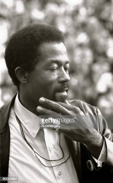 Eldridge Cleaver Minister of Information for the Black Panther Party and presidential candidate for the Peace and Freedom Party speaking at the...