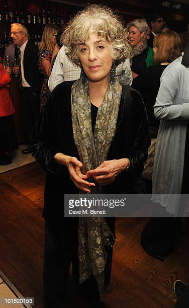 Eleanor Bron attends the press night for 'The Late Middle Classes' at Cafe Des Amis on June 1 2010 in London England
