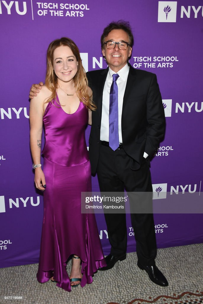 Eleanor Columbus and Chris Columbus attend The New York University Tisch School Of The Arts 2018 Gala at Capitale on April 16, 2018 in New York City.