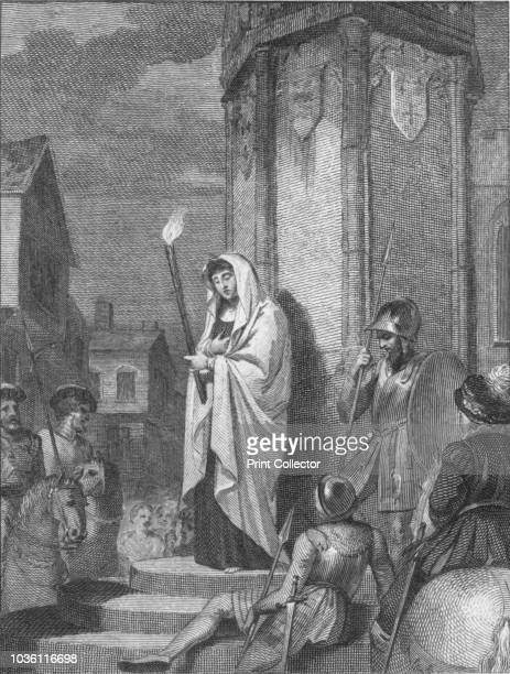 Eleanor doing penance for witchcraft' Eleanor Cobham Duchess of Gloucester was charged with unlawful commerce with Marjory Jourdemain 'the Witch of...