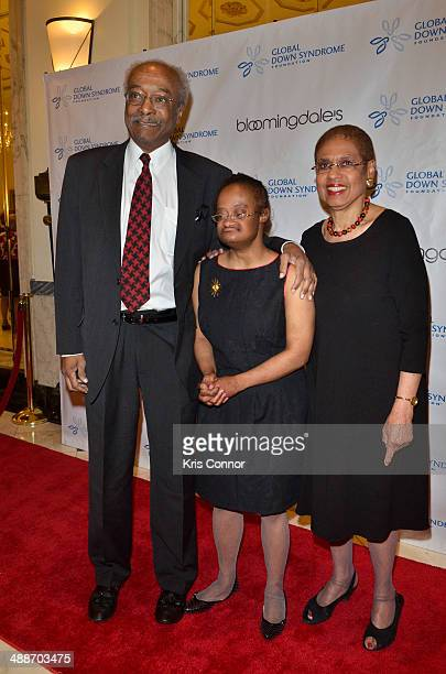 Eleanor Holmes Norton and Katherine Felicia Norton attend the 2014 Global Down Syndrome Foundations Be Beautiful Be Yourself DC Gala at Renaissance...