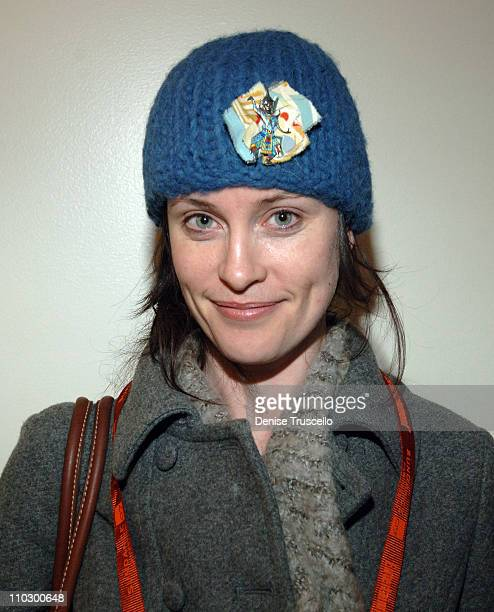 Eleanor Hutchins at Zola Hats during 2007 Park City Luxury Lounge Day 4 at Media Placement Luxury Lounge in Utah United States