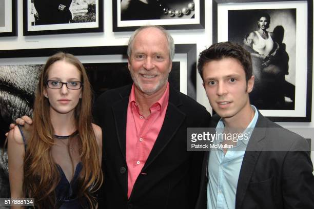 Eleanor Lambert Greg Gorman and Vito Leccese attend GREG GORMAN A DISTINCT VISION 1970 2010 at Pacific Design Center on September 14 2010 in West...