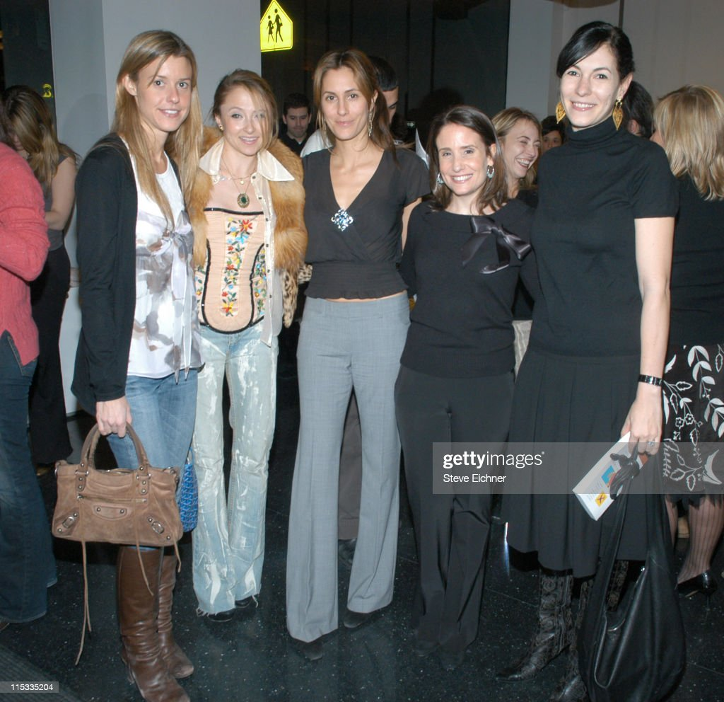 """Theory Celebrates """"If Andy Warhol Had a Girlfriend"""" by Alison Pace and Theory's Spring 2005 Collection : News Photo"""