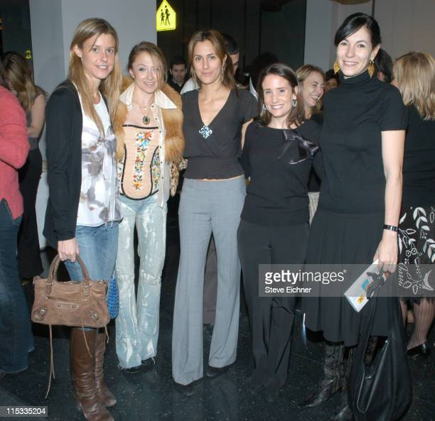 Eleanor Lembo Stacey Bendet Cristina Greeven Cuomo Alison Pace and Jill Kargman