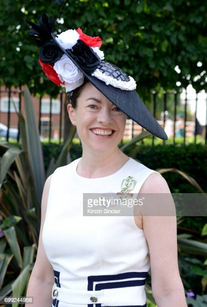 Eleanor Manning attends day 2 of Royal Ascot at Ascot Racecourse on June 21 2017 in Ascot England