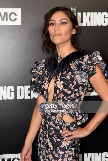 Eleanor Matsuura attends the premiere of AMC's The Walking Dead season 9 at DGA Theater on September 27 2018 in Los Angeles California