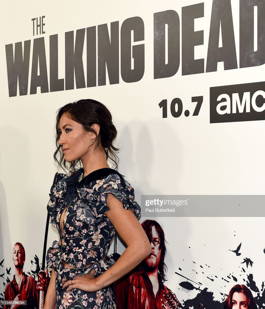 "Premiere Of AMC's ""The Walking Dead"" Season 9 - Arrivals : News Photo"