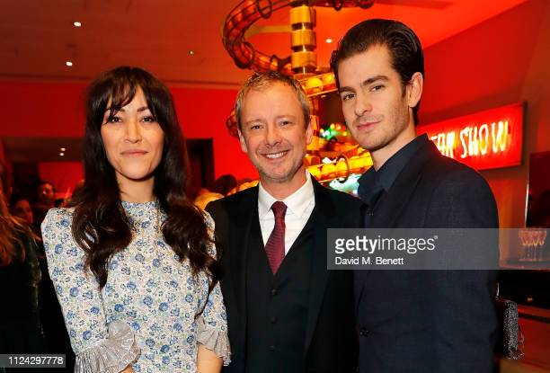 Eleanor Matsuura John Simm and Andrew Garfield attend the inaugural Casting Awards celebrating the significant achievements of casting in the fields...