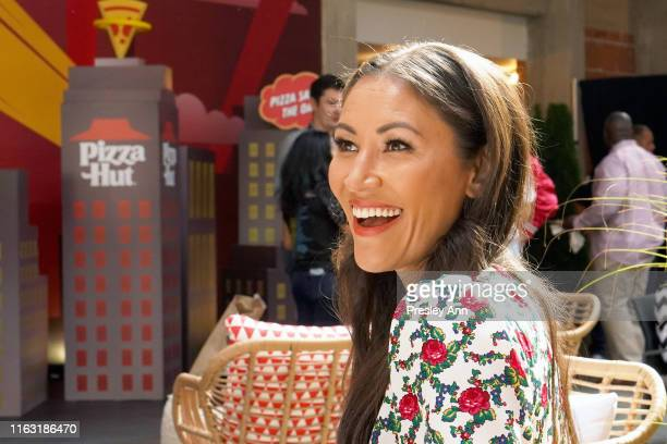 Eleanor Matsuura of 'The Walking Dead' attends the Pizza Hut Lounge at 2019 ComicCon International San Diego on July 20 2019 in San Diego California
