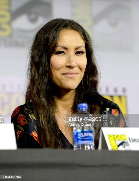 Eleanor Matsuura speaks at The Walking Dead Panel during 2019 ComicCon International at San Diego Convention Center on July 19 2019 in San Diego...