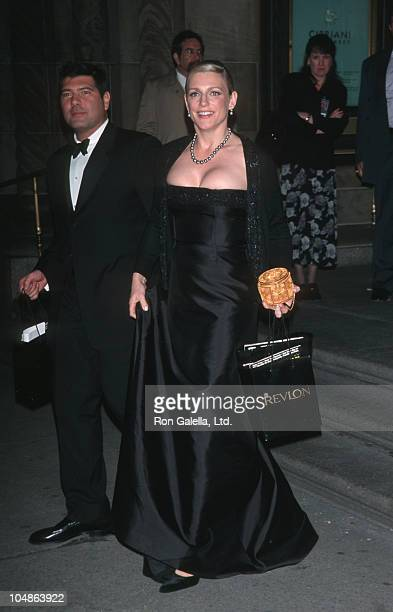 Eleanor Mondale and guest during 9th Annual Concert for Rainforest Foundation at Carnegie Hall in New York City New York United States