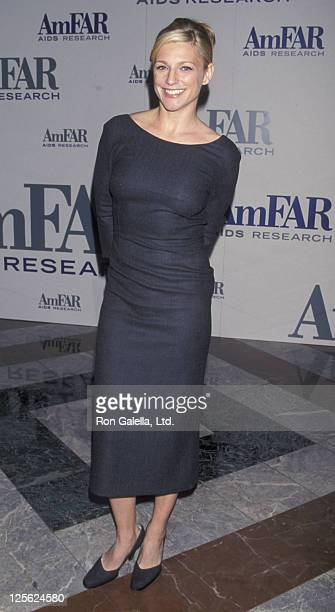 Eleanor Mondale attends AmFAR Seasons of Hope Awards Gala on November 30 1998 at the World Financial Center in New York City