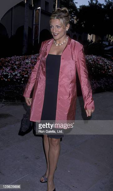 Eleanor Mondale attends CBS TV Summer Press Tour on July 24 1998 at the Ritz Carlton Hotel in Pasadena California
