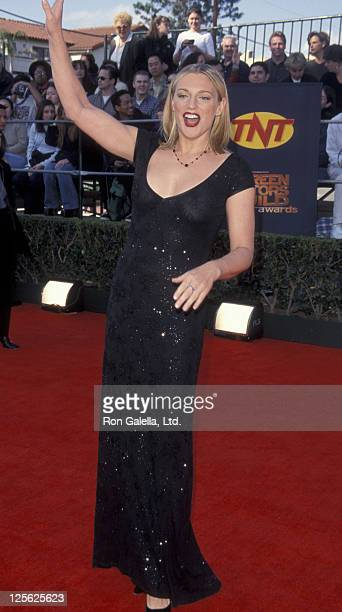 Eleanor Mondale attends Fifth Annual Screen Actors Guild of America Awards on March 7 1999 at the Shrine Auditorium in Los Angeles California