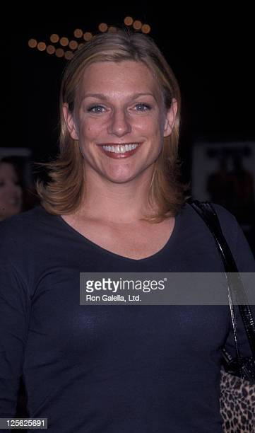 Eleanor Mondale attends the premiere of Bowfinger on July 26 1999 at the Ziegfeld Theater in New York City