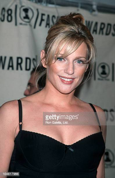 Eleanor Mondale during 1998 VH1 Fashion Awards at Madison Square Garden in New York City New York United States