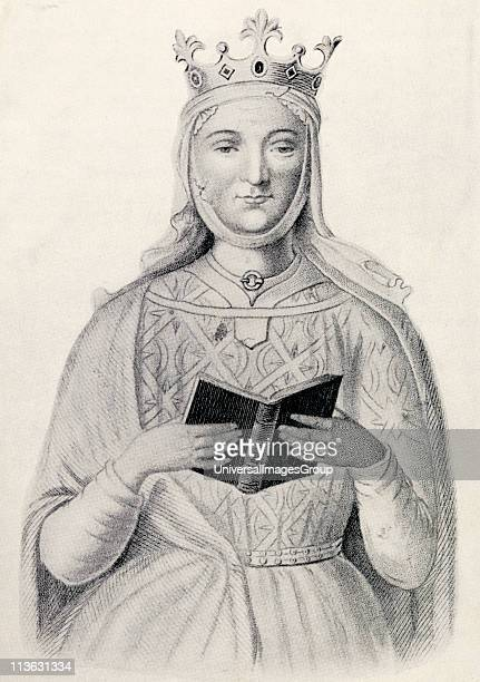 Eleanor of Aquitaine 1122 to 1204 Queen of the Franks through her marriage to Luis VII of France From the book Our Queen Mothers by Elizabeth Villiers