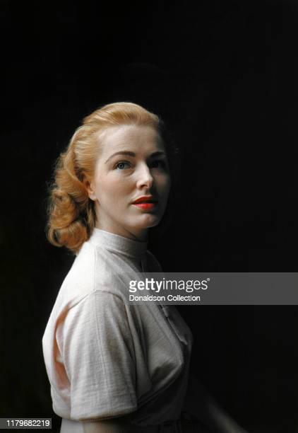 Eleanor Parker in circa 1950 in Los Angeles California