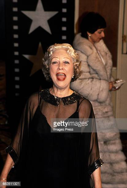 Eleanor Powell attends the American Film Institute's Salute to Fred Astaire circa 1981 in Los Angeles California