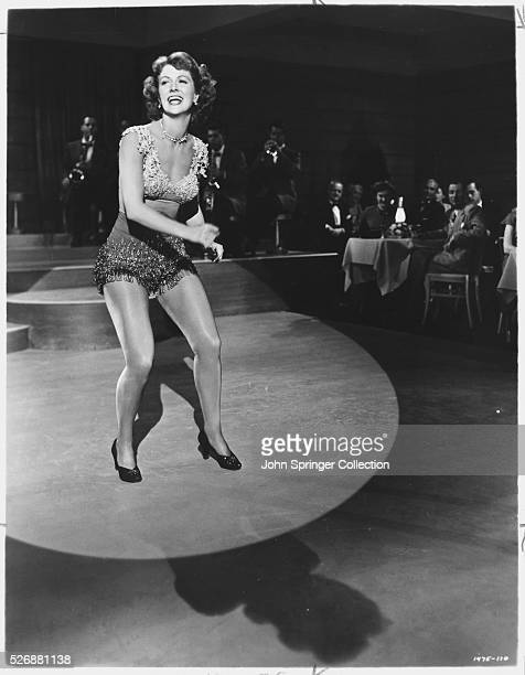 Eleanor Powell makes a cameo appearance in Duchess of Idaho