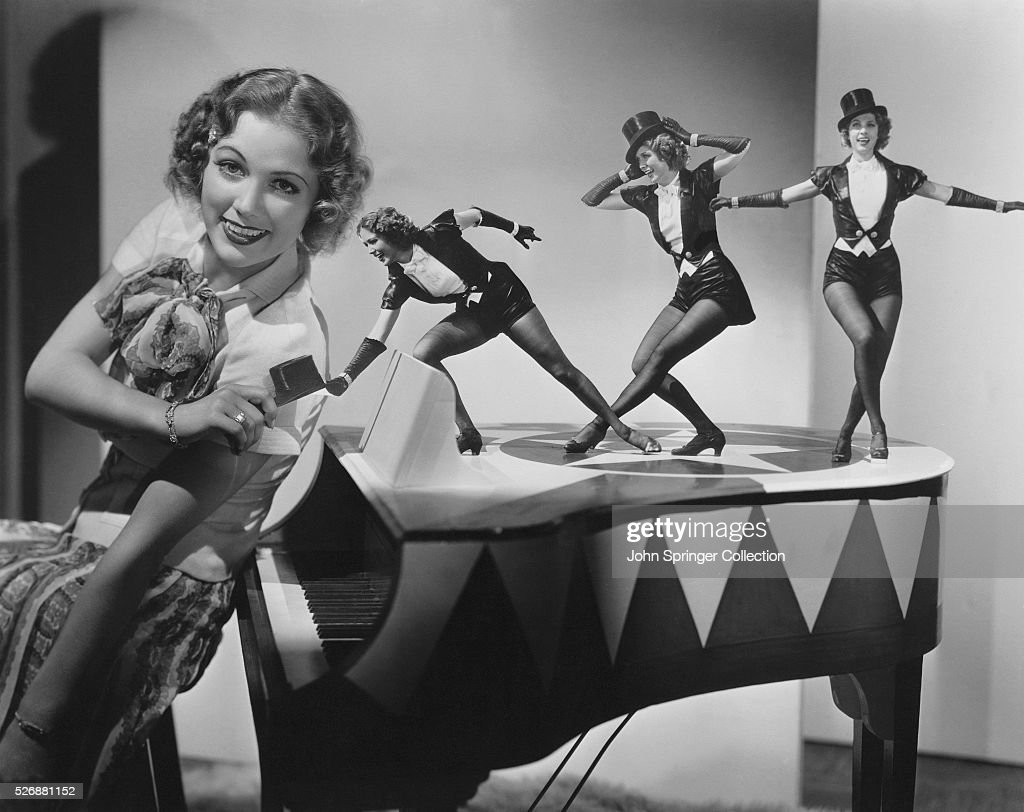 Eleanor Powell Practicing Tap Dance Moves : News Photo