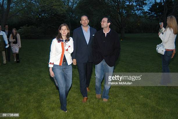 Eleanor Prauge Reed Krakoff and Rodney Prauge attend Reed and Delphine Krakoff host cocktails to kick off the Parrish Art Museum Midsummer Gala...