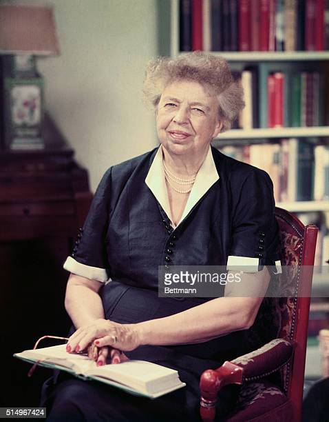 Eleanor Roosevelt 1884 columnist and lecturer was the wife of President Franklin D Roosevelt