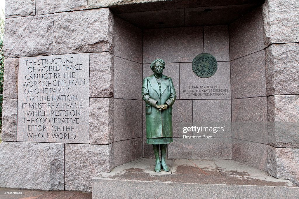 Eleanor Roosevelt Memorial At The Franklin Delano Roosevelt Memorial News Photo Getty Images