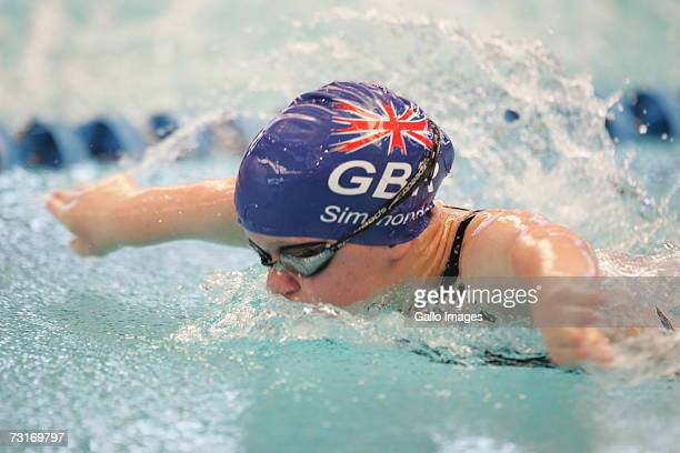 Eleanor Simmonds in the 50m S6 Butterfly in action during the DISSA 2006 IPC Swimming World Championships at Kings Park Aquatic Centre in Durban...