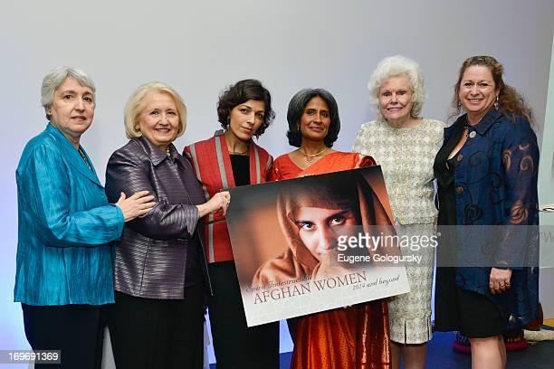 Eleanor Smeal RIna Amiri Melanne Verveer Sunita Viswanath Abigail Disney and Doris Buffett attend the Women for Afghan Women 12th Anniversary...