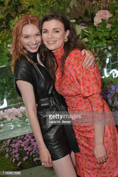 Eleanor Tomlinson and Aisling Bea celebrate The ELLE List in association with MAGNUM ice cream on June 19 2019 in London England