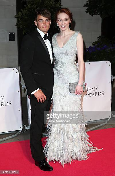 Eleanor Tomlinson and Ben Atkinson attends the After Party dinner for the House of Fraser British Academy Television Awards at The Grosvenor House...