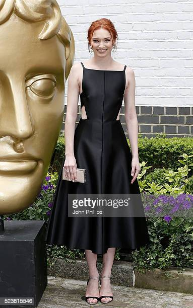 Eleanor Tomlinson arrives for the British Academy Television Craft Awards at The Brewery on April 24 2016 in London England