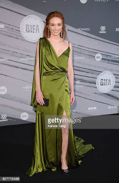Eleanor Tomlinson attends at The British Independent Film Awards at Old Billingsgate Market on December 4 2016 in London England
