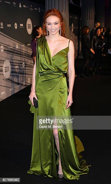 Eleanor Tomlinson attends at The British Independent Film Awards Old Billingsgate Market on December 4 2016 in London England