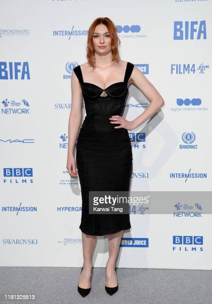 Eleanor Tomlinson attends the British Independent Film Awards 2019 at Old Billingsgate on December 01 2019 in London England