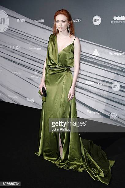 Eleanor Tomlinson attends The British Independent Film Awards at Old Billingsgate Market on December 4 2016 in London England