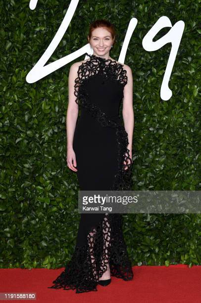 Eleanor Tomlinson attends The Fashion Awards 2019 at the Royal Albert Hall on December 02 2019 in London England
