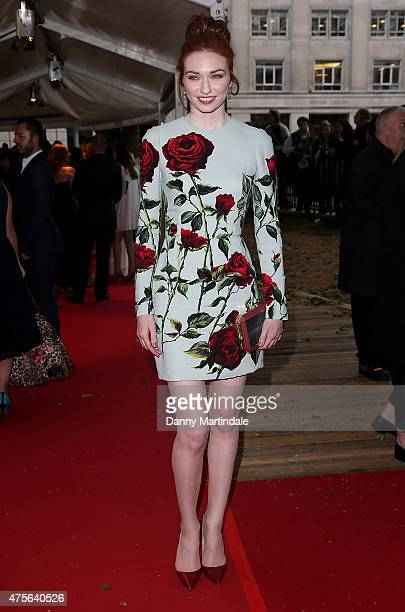 Eleanor Tomlinson attends the Glamour Women Of The Year Awards at Berkeley Square Gardens on June 2 2015 in London England