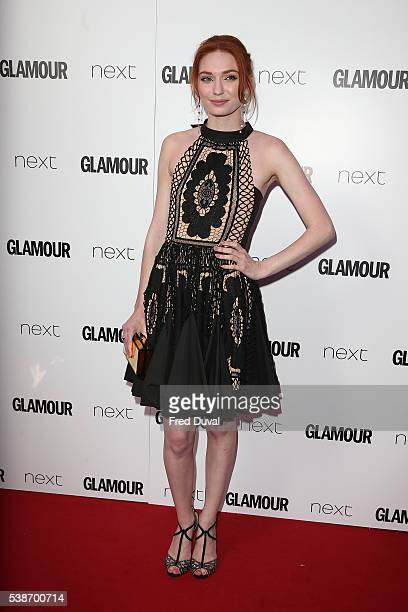 Eleanor Tomlinson attends the Glamour Women of the Year Awards at Berkeley Square Gardens on June 7 2016 in London England