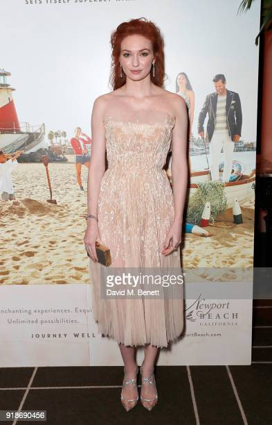 Eleanor Tomlinson attends the Newport Beach Film Festival UK Honours in association with Visit Newport Beach at The Rosewood Hotel on February 15...