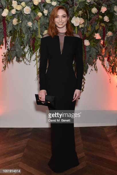 Eleanor Tomlinson attends the UK Premiere after party for Colette during the 62nd BFI London Film Festival on October 11 2018 in London England