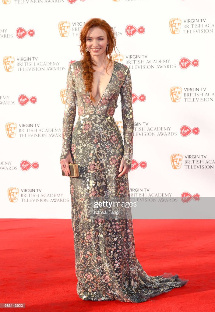 Eleanor Tomlinson attends the Virgin TV BAFTA Television Awards at The Royal Festival Hall on May 14, 2017 in London, England.