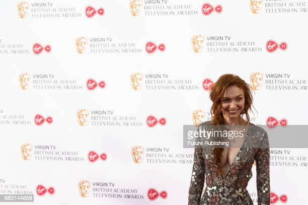 Eleanor Tomlinson attends the Virgin TV British Academy Television Awards ceremony at the Royal Festival Hall on May 14 2017 in London United Kingdom...