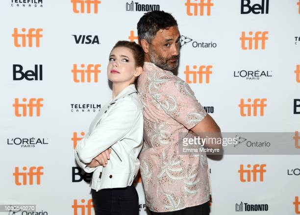 Eleanor WorthingtonCox and Taika Waititi attend TIFF 2018 Rising Stars Annual Power Break Luncheon on September 10 2018 in Toronto Canada