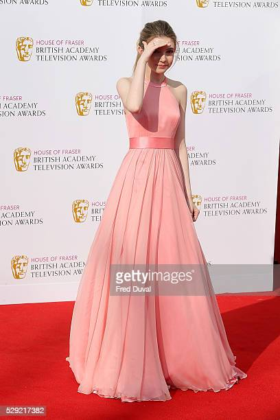 Eleanor WorthingtonCox arrives for the House Of Fraser British Academy TelevisionAwards 2016 at the Royal Festival Hall on May 8 2016 in London...