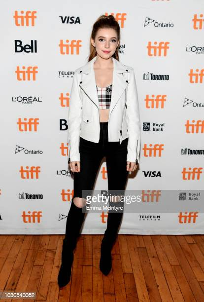 Eleanor WorthingtonCox attends TIFF 2018 Rising Stars Annual Power Break Luncheon on September 10 2018 in Toronto Canada