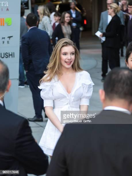 Eleanor WorthingtonCox is seen on May 31 2018 in Los Angeles California